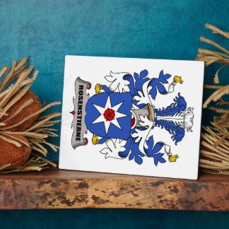Escudo de la familia de Rosenstierne Placa De Madera