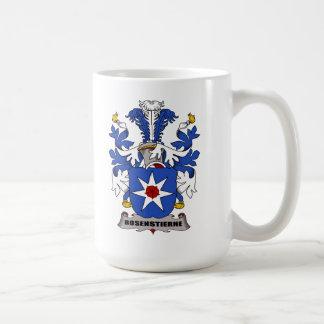 Escudo de la familia de Rosenstierne Tazas