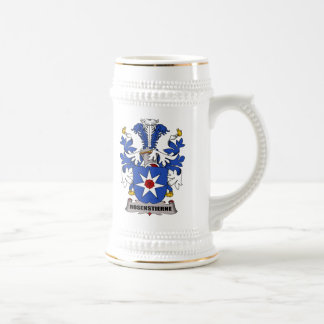 Escudo de la familia de Rosenstierne Tazas De Café