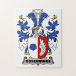 Escudo de la familia de Rosenvinge Rompecabeza