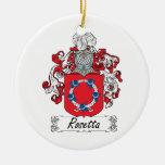 Escudo de la familia de Rosetta Adorno Para Reyes