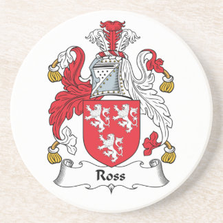 Escudo de la familia de Ross Posavasos Diseño