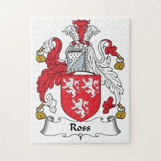 Escudo de la familia de Ross Puzzle Con Fotos
