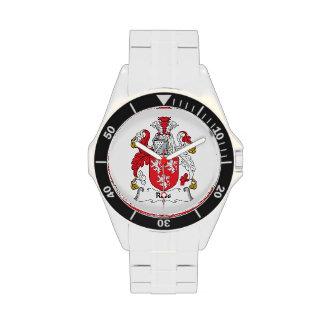 Escudo de la familia de Ross Reloj De Mano