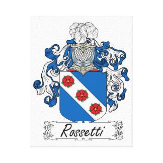 Escudo de la familia de Rossetti Lona Estirada Galerías