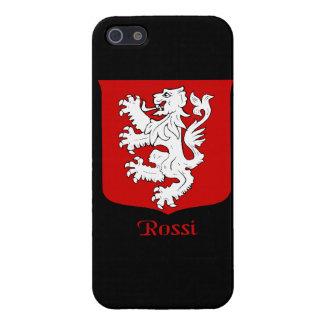 Escudo de la familia de Rossi iPhone 5 Cárcasas