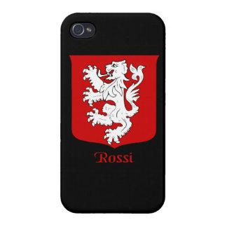 Escudo de la familia de Rossi iPhone 4 Carcasa