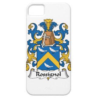 Escudo de la familia de Rossignol iPhone 5 Protectores