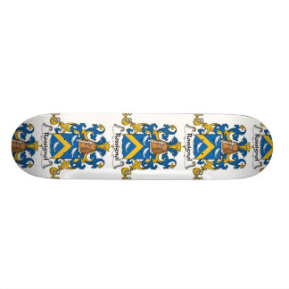 Escudo de la familia de Rossignol Tabla De Patinar