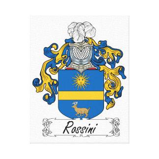 Escudo de la familia de Rossini Impresiones En Lienzo Estiradas