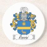 Escudo de la familia de Rossini Posavasos Manualidades
