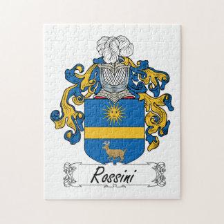 Escudo de la familia de Rossini Rompecabezas