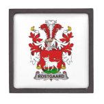 Escudo de la familia de Rostgaard Cajas De Regalo De Calidad