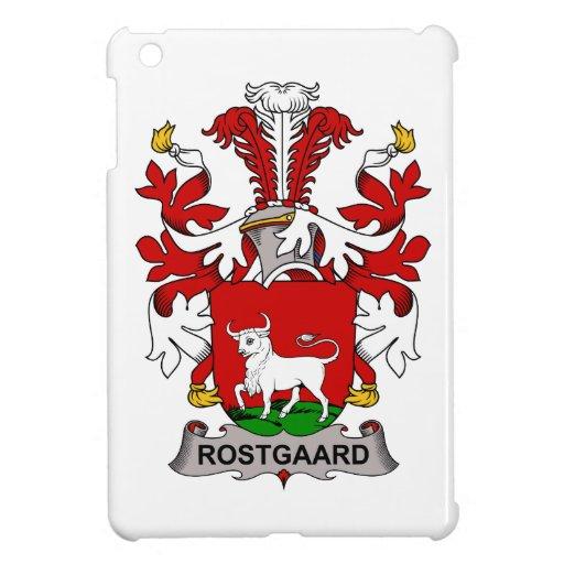 Escudo de la familia de Rostgaard iPad Mini Fundas