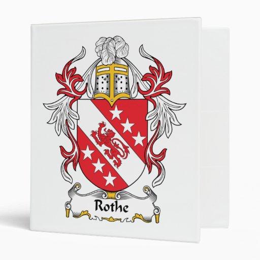 Escudo de la familia de Rothe