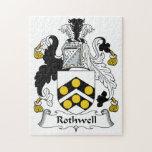 Escudo de la familia de Rothwell Puzzles Con Fotos