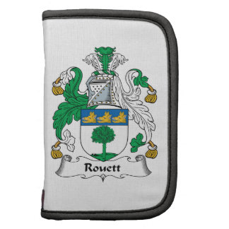 Escudo de la familia de Rouett Organizadores