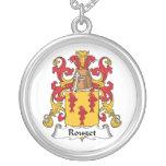 Escudo de la familia de Rouget Joyería