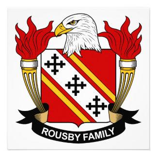 Escudo de la familia de Rousby Comunicados