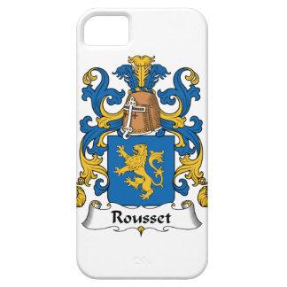 Escudo de la familia de Rousset iPhone 5 Case-Mate Cárcasas