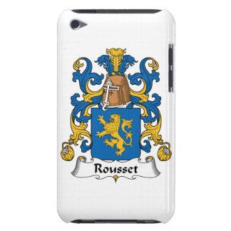 Escudo de la familia de Rousset iPod Touch Case-Mate Coberturas