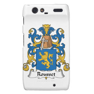Escudo de la familia de Rousset Motorola Droid RAZR Carcasas