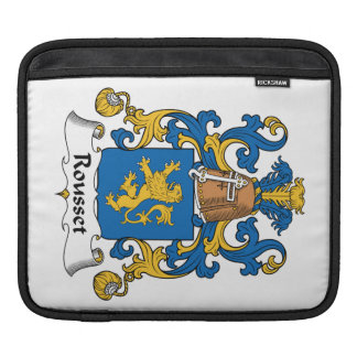 Escudo de la familia de Rousset Funda Para iPads
