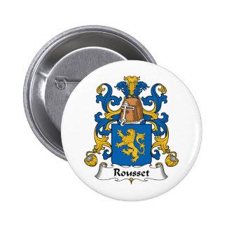 Escudo de la familia de Rousset Pins