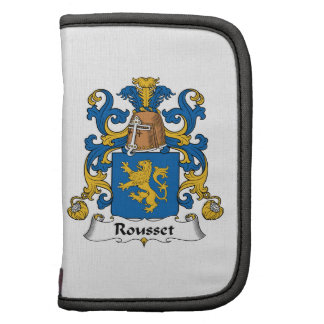 Escudo de la familia de Rousset Planificador