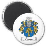 Escudo de la familia de Rovere Imán Para Frigorífico
