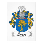 Escudo de la familia de Rovere Comunicados Personalizados