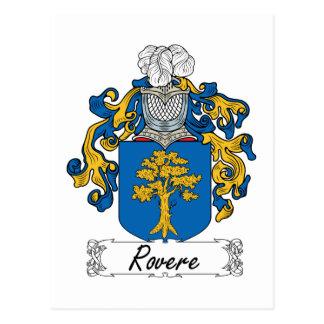 Escudo de la familia de Rovere Postales