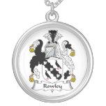 Escudo de la familia de Rowley Colgante