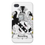 Escudo de la familia de Rowley iPhone 4/4S Carcasa