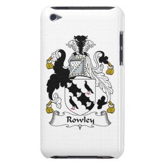 Escudo de la familia de Rowley iPod Touch Case-Mate Cárcasa