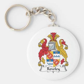Escudo de la familia de Rowley Llaveros