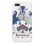 Escudo de la familia de Rowntree iPhone 5 Carcasa