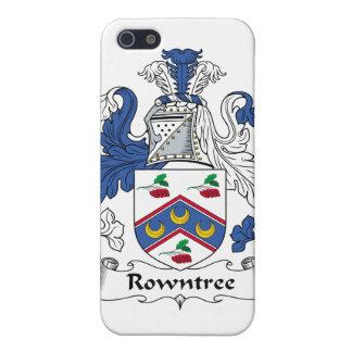 Escudo de la familia de Rowntree iPhone 5 Funda