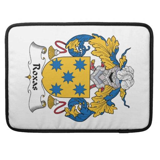 Escudo de la familia de Roxas Fundas Macbook Pro