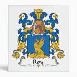 Escudo de la familia de Roy