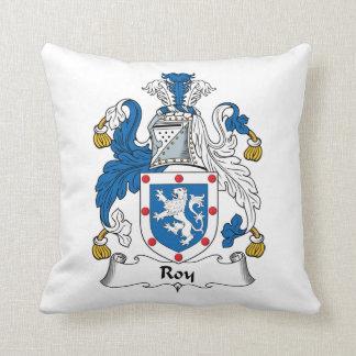 Escudo de la familia de Roy Cojín Decorativo