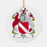 Escudo de la familia de Roy Ornamentos De Navidad