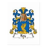 Escudo de la familia de Roy Postales
