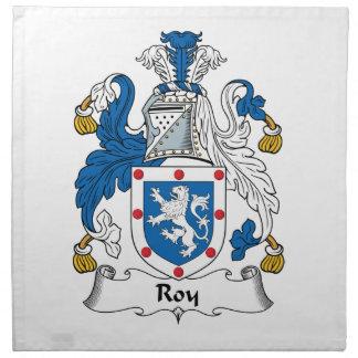 Escudo de la familia de Roy Servilleta Imprimida