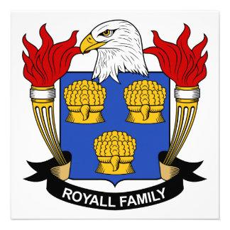 Escudo de la familia de Royall Comunicado