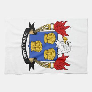 Escudo de la familia de Royall Toallas