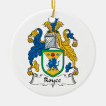 Escudo de la familia de Royce Ornamente De Reyes