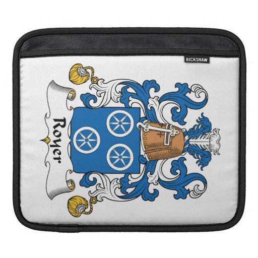 Escudo de la familia de Royer Manga De iPad