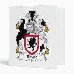 Escudo de la familia de Royse