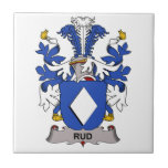 Escudo de la familia de Rud Teja
